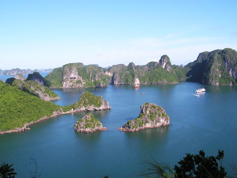 mapa vietnã baia ha long