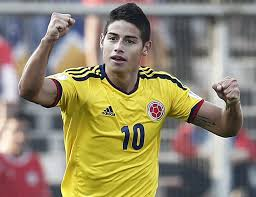 Camisas 10 da Copa do Mundo 2014 – James Rodriguez (Colômbia)