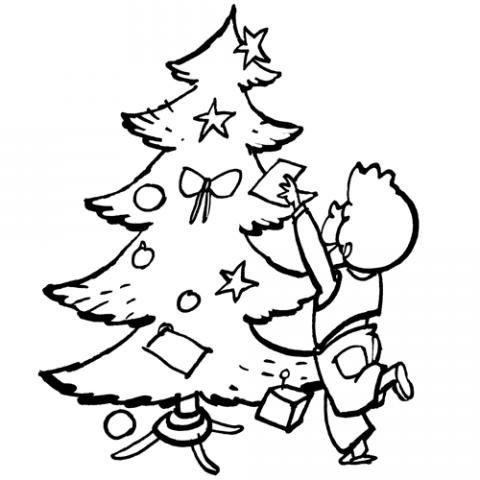 Arvore De Natal Para Colorir Minuto Ligadominuto Ligado