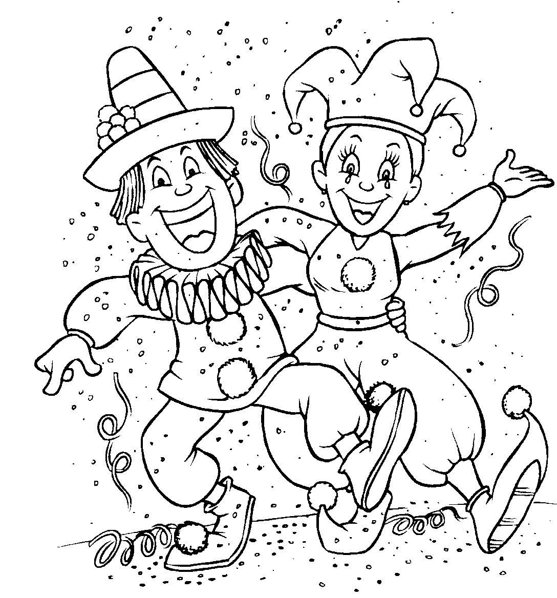 Desenho Carnaval Para Colorir Minuto Ligadominuto Ligado