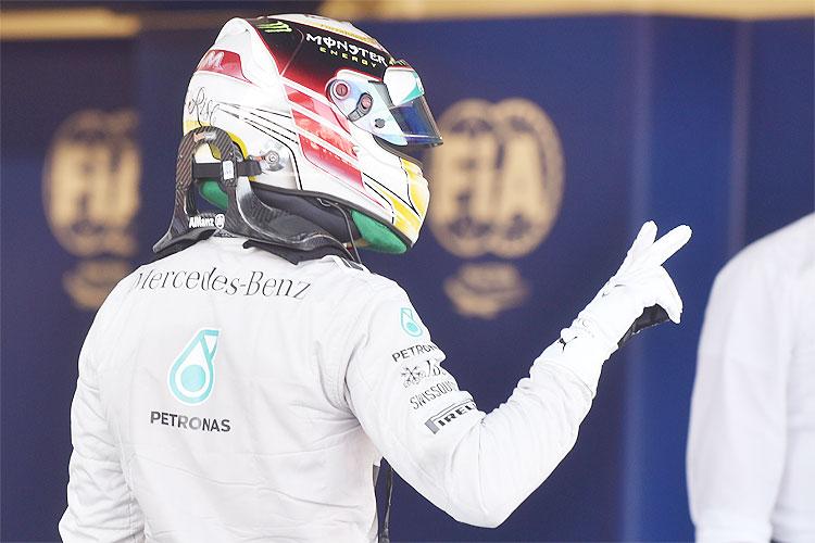 Hamilton GP da Rússia
