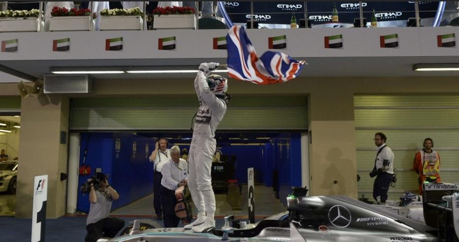 Hamilton é bicampeão da F1