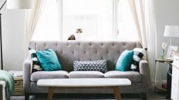Limpeza do sofá